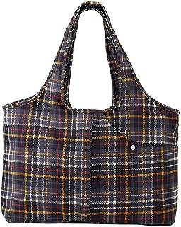 ZOOEASS Women Colorful Large Tote Shoulder Handbag Waterproof Tote Bag Multi-function Nylon Travel Shoulder