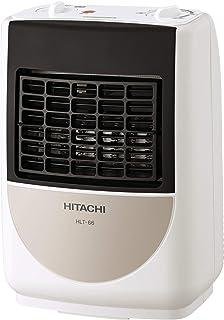 日立 コンパクト電気温風機 TOREPOKA 600W 温度調節 風向ルーバー付き 脱衣所トイレ対応 HLT-66
