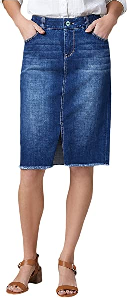 Betty Denim Pencil Skirt