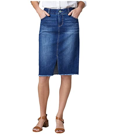 Jag Jeans Betty Denim Pencil Skirt (Thorne Blue) Women