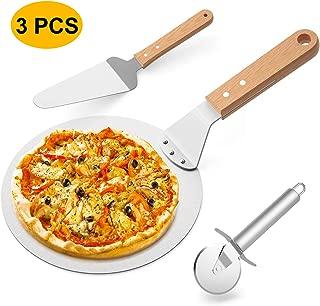 Usuny Acier Inoxydable Pizza Pizza Cr/êpe Pelle pour Maison Cuisine