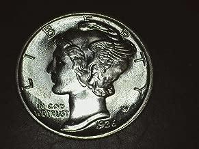 1936 90% Silver Mercury Dimes GEM BU .10c Dime Choice Brilliant Uncirculated