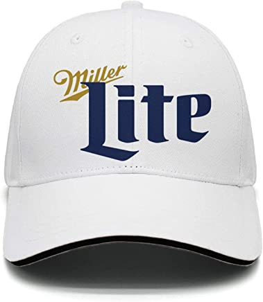 e5008d2b iorty rtty Cap Adjustable Unisex Miller-Lite-Beer- Vintage Trucker Hat