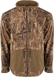 Drake Non-Typical Hyrdro-Hush Full Zip Jacket Timber Medium