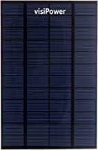 visiPower 4W 12V 330mA Portable Solar Panel Outdoor Flexible Solar Charger Power Bank
