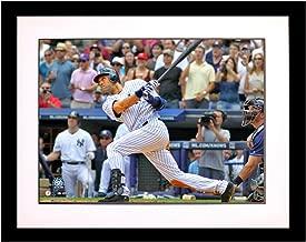 Steiner Sports Memorabilia JETER3K8FA Unsigned MLB New York Yankees Derek Jeter 3,000Th Hit 'Swing' 8x10 Framed Photo, Multicolor