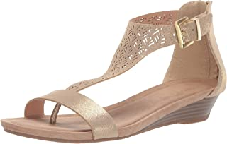 Women's City 3 T-Strap Low Wedge Sandal