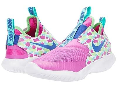 Nike Kids Flex Runner (Big Kid) (Active Fuchsia/Multicolor) Kids Shoes