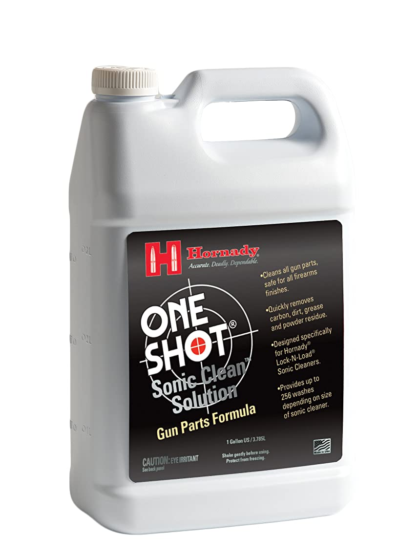 Hornady 043361 Lock-N-Load Sonic Gun Parts Cleaner Solution, Gallon