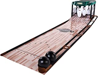 Lancaster Gaming 85 Inch Indoor Bowling Alley with Electronic Scorer Arcade Game
