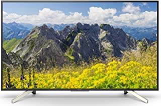 Sony 55 Inch LED 4K Ultra HD Smart TV, Black - KD-55X7500F