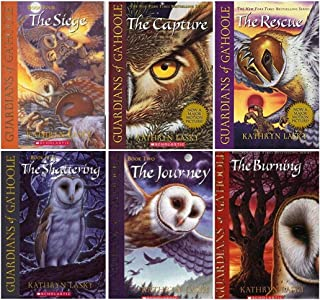 Guardians of Ga'hoole Boxed Set, Books 1 - 6: The Capture / The Journey / The Rescue / The Siege / The Shattering / The Burning