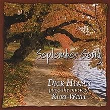 September Song - Dick Hyman Plays the Music of Kurt Weill