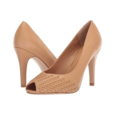 Athena Alexander Strasborg Heel (Tan Smooth Leather) High Heels