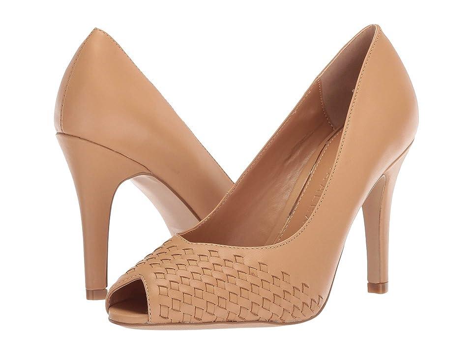 Athena Alexander Strasborg Heel (Tan Smooth Leather) High Heels