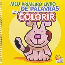 Meu primeiro livro de palavras para colorir