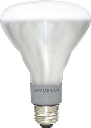 SYLVANIA 65 Watt Equivalent, BR30 LED Light Bulb, Dimmable, Soft White Color 2700K