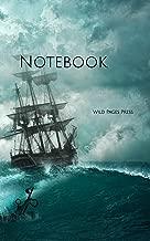 Notebook: ship shipwreck adventure setting boat mysticism shipping ships boating boat boats sail