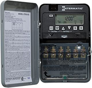 Intermatic ET1125C 24-Hour 30-Amp Electronic Time Switch, 120-277 VAC, NEMA 1