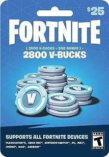 Fortnite V-Bucks Gift Card