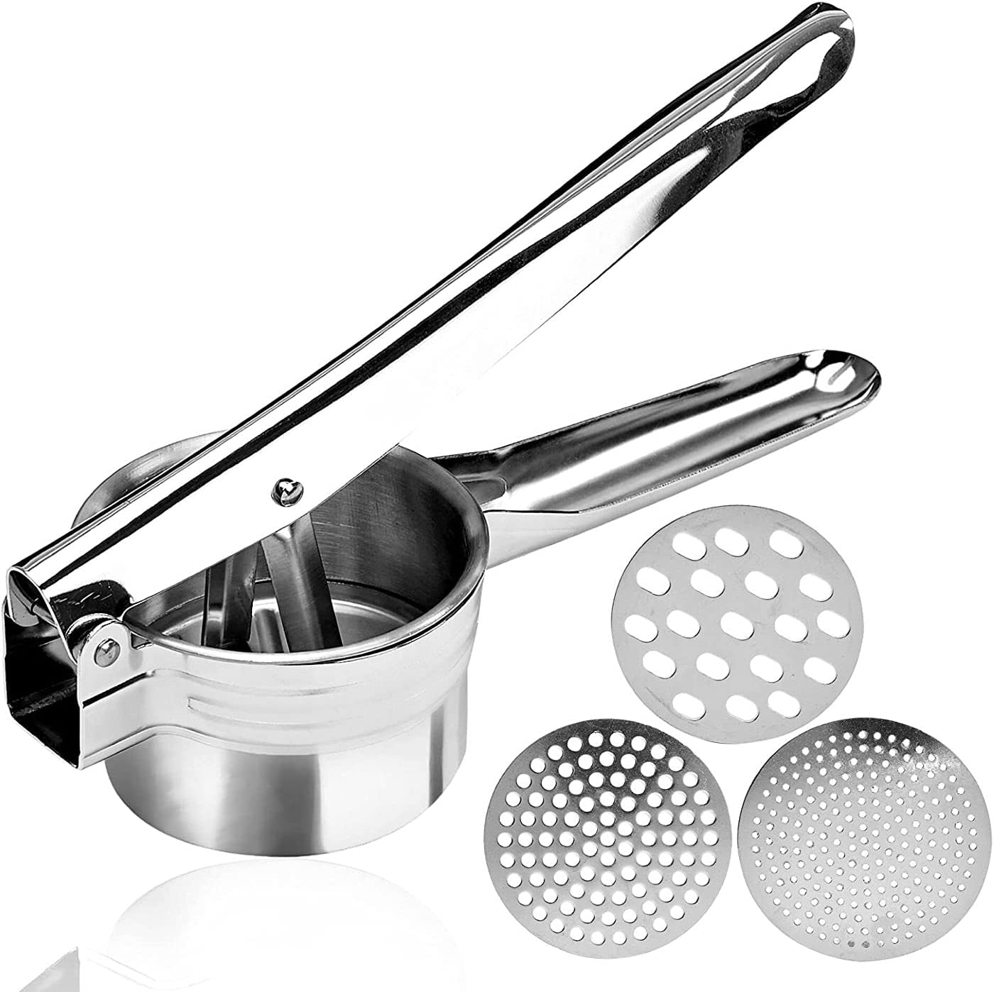 Potato Ricer Stainless Store Steel Manual 35% OFF Masher Potatoes for Fruits