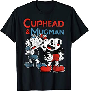 Cuphead & Mugman Dynamic Duo Graphic T-Shirt