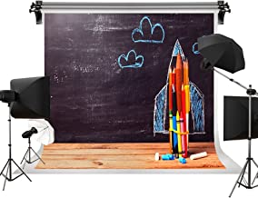 Kate 7x5ft/2.2m(W) x1.5m(H) Back to School Backdrops Homecoming Day Background Blackboard Pencils Chalk Paintings School Kids Photo Studio Props Backgrounds