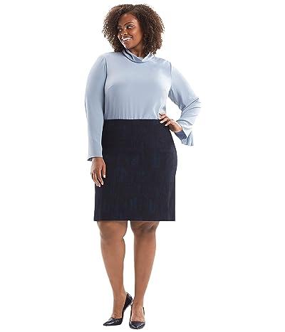 M.M.LaFleur Noho Skirt (Blue/Black) Women