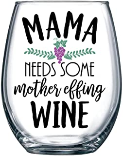Best funny mom wine glass Reviews