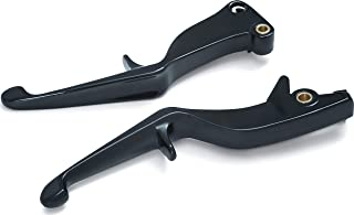 Kuryakyn 7128 Motorcycle Handlebar Accessory: Clutch and Brake Trigger Levers for 2008-17 Victory Motorcycles with Cable Clutch, Gloss Black, 1 Pair