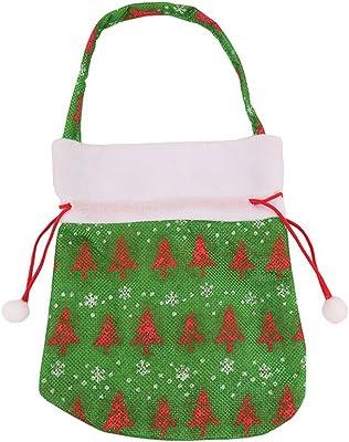 Amazon.com: Awesomes bolsa de dulces de Navidad portátil ...