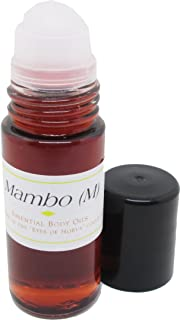 madina Mambo Type for Men Roll-On Cologne Body Oil [Dark Red - 1 oz.]