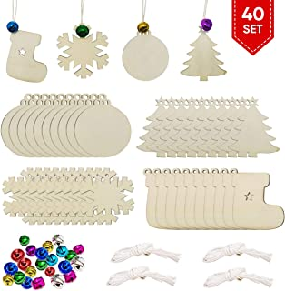 Best wooden unfinished christmas ornaments Reviews