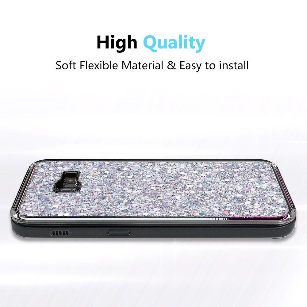 OKZone Funda Samsung Galaxy A3 2017, Cárcasa Brilla Glitter ...