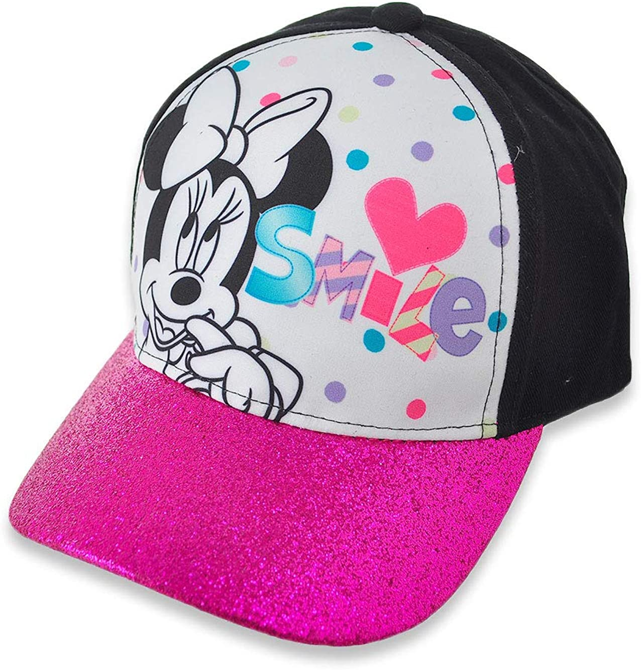 New Disney Minnie Mouse Cheap super special price Girls Hat Cap Purple Baseball Glitter At the price of surprise Sm