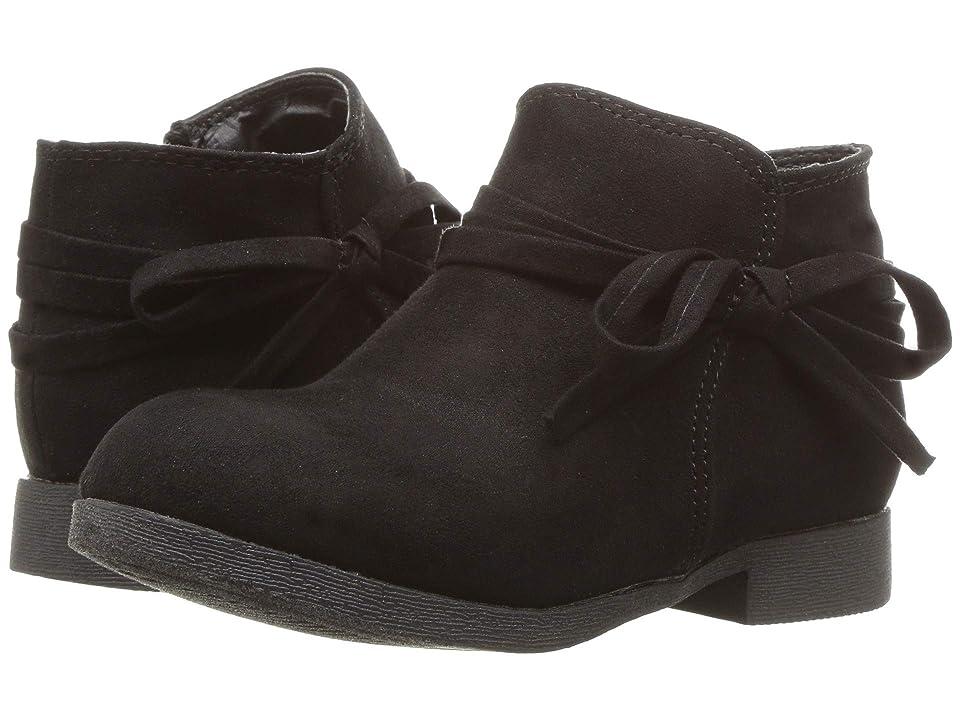 Nine West Kids Cyndees (Toddler/Little Kid) (Black Microfiber) Girls Shoes