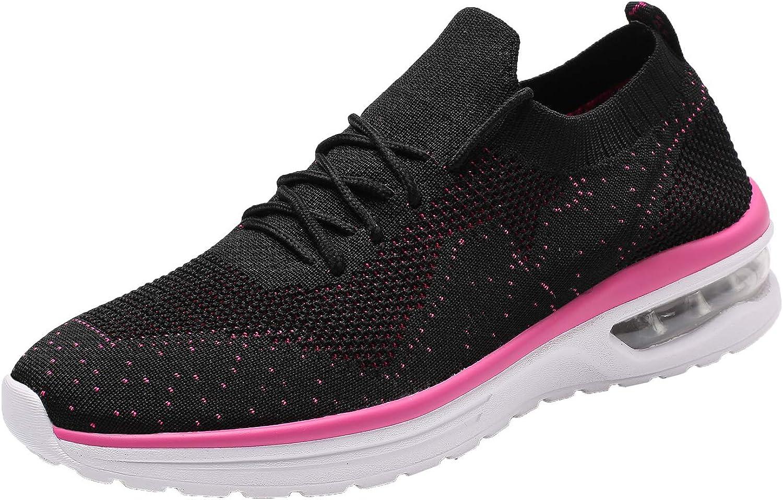 Hetohec Womens Walking Athletic shoes Comfort Casual Sneaker Running shoes Women Tennis Bike Racquetball Cycling