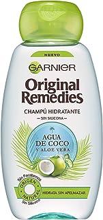 Garnier Original Remedies Champú Agua de Coco y Aloe Vera 250 ml