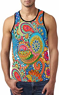 Cool Design Men's Vest Tank Tops T-Shirt Gym Workout