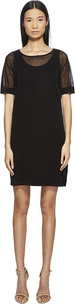 Desheer Short Sleeve Dress