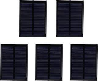 Solar Panel Charger | 5Pcs Mini Solar Panel | Windproof Snowproof Solar Phone Chargers Solar Power Bank Epoxy Cell Board M...