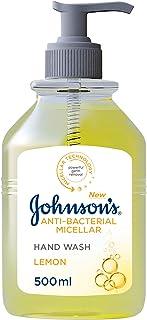 Johnson's Hand Wash, Anti-Bacterial Micellar, Lemon, 500 ml