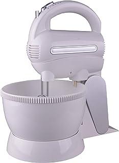Geepas Hand Mixer, White, GHM9897, 2.5 Litre