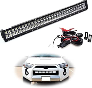 4runner led bar behind grill