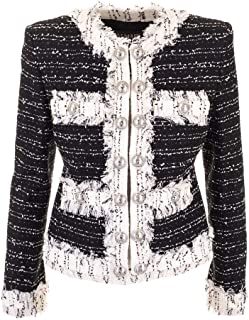 Balmain Luxury Fashion Womens SF07263C190EAB White Jacket | Fall Winter 19