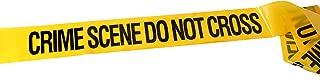 CrimeKit, 100 feet Crime Scene Do Not Cross Tape (30m). Novelty Barrier Tape. Bonus 3 x Evidence Stickers