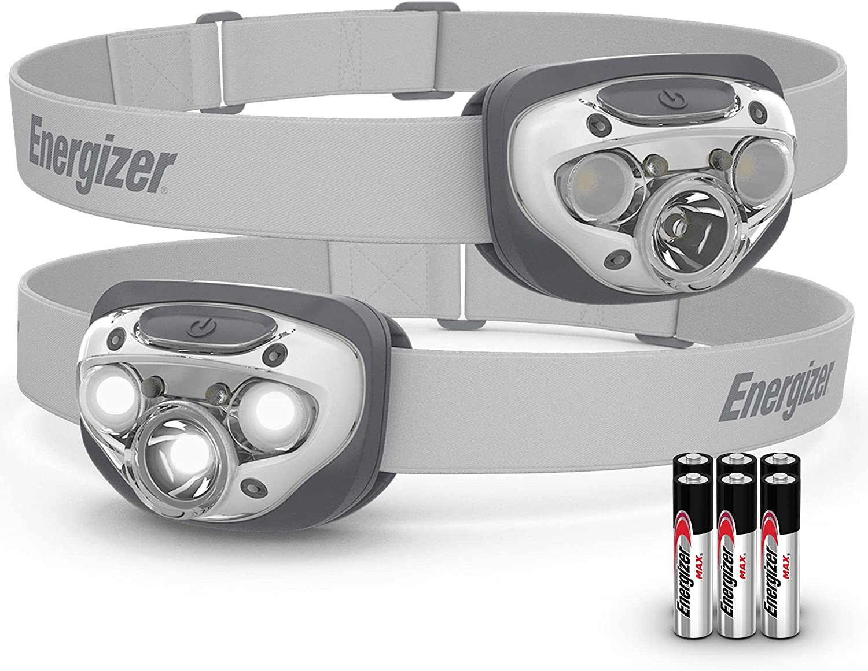 ENERGIZER LED Headlamp Flashlight, High-Performance Head Light For Outdoors