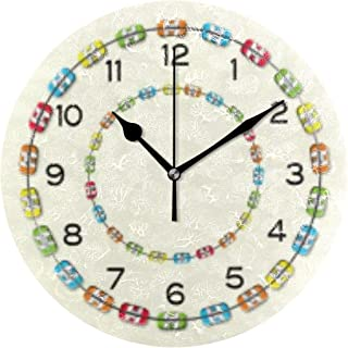 MIKA 置き時計 掛け置き両用 卓上 時計 おしゃれ 壁掛け時計 モダン アート インテリア ウォールクロック 壁時計 新生活 置時計・掛け時計 歯科矯正学支柱 オフィス