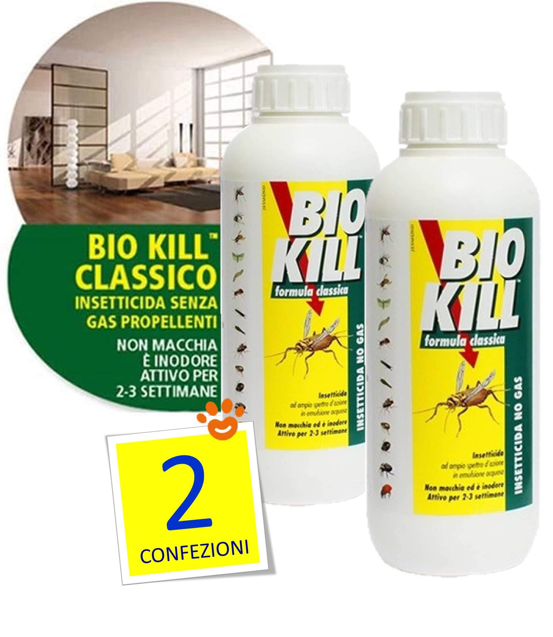 Set de 2 botes de insecticida Bio Kill de 1 l: Amazon.es: Jardín