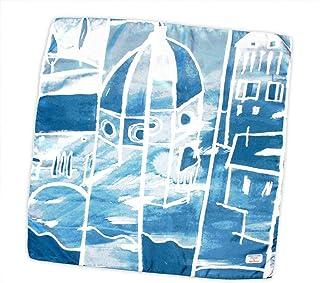 Cupola Brunelleschi foulard pura seta 70x70cm made in Italy. Disegno artistico della cupola del Duomo di Firenze ed altri ...